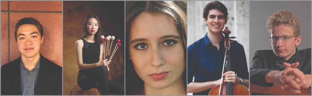 2019 Concerto Competition Finalists