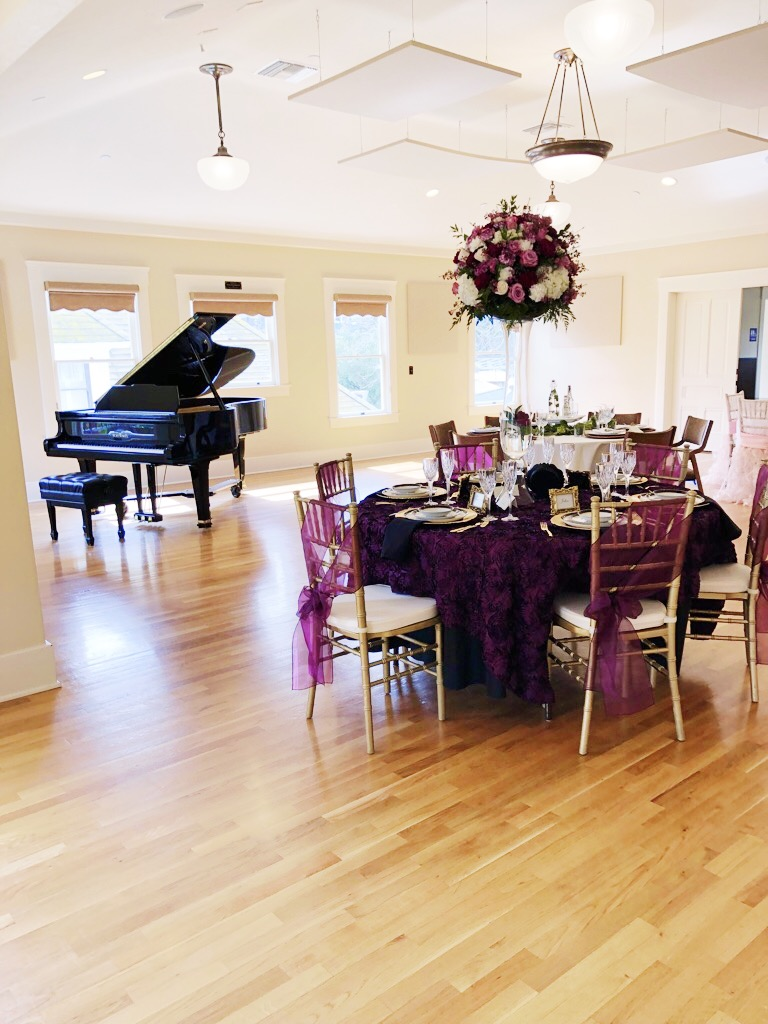 The Mission Gables House is perfect for any reception or banquet.