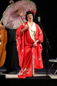 Soprano Daria Somers as Cio Cio San in Madame Butterfly