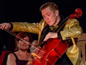 Cellist Ruslan Biryukov performs Lalo's Cello Concerto